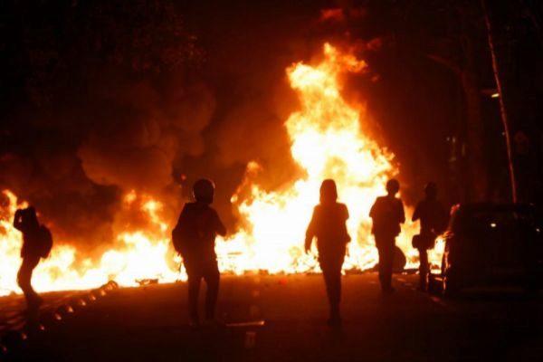 Imagen de una de las jornadas de protestas contra la sentencia del...