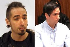 Rodrigo Lanza, en una imagen de 2015 (izqda.) y la actual.
