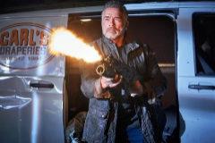 Arnold Schwarzenegger en 'Terminator: destino oscuro'.