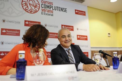 Pablo Llarena, durante una intervención en los cursos de verano de El...