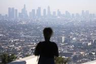 La calidad del aire en el área metropolitana de Los Ángeles, EEUU,  no es saludable para los grupos sensibles.