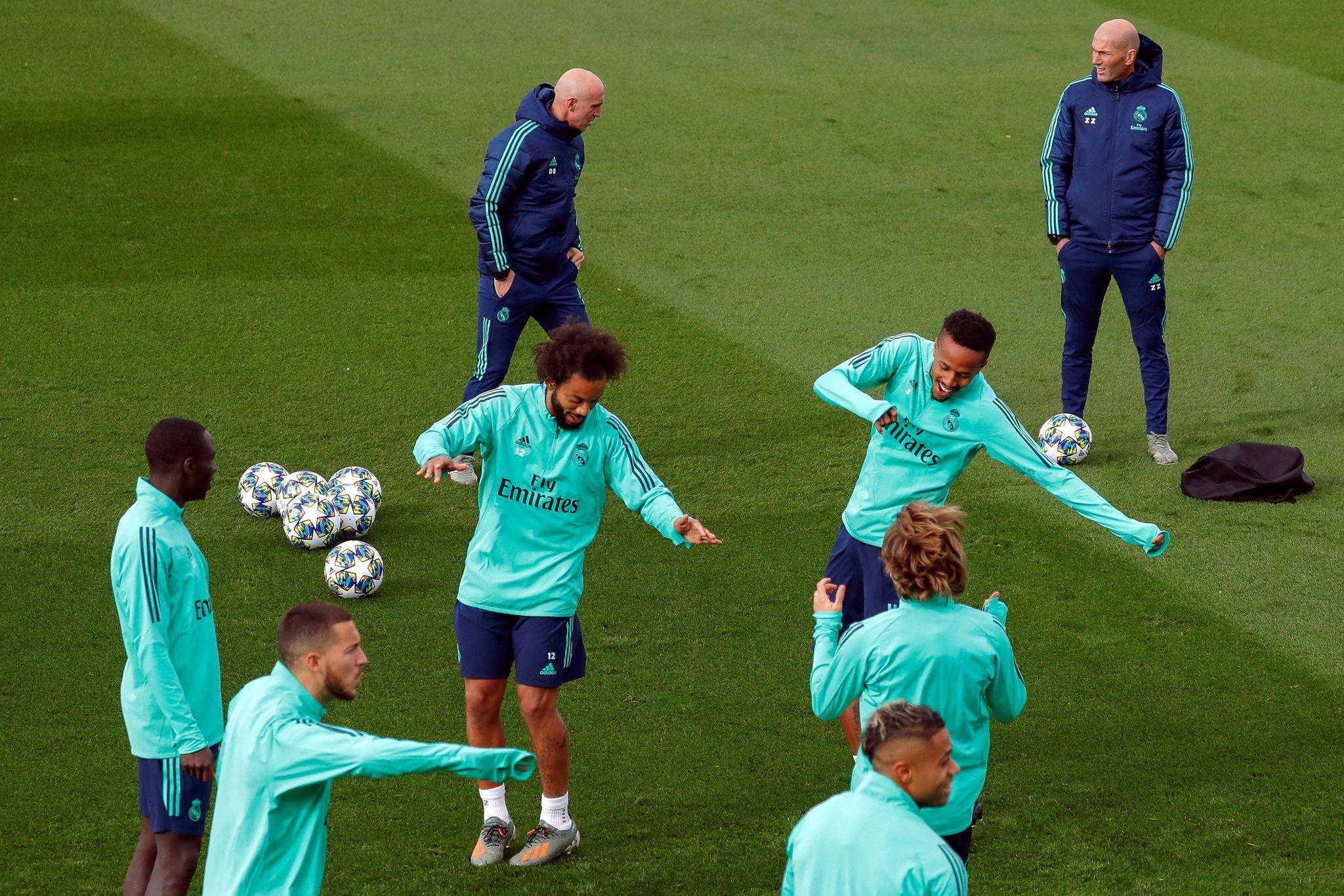 GRAF2979. MADRID.- El entrenador francés del Real Madrid, Zinedina...