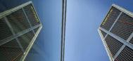 En la imagen, las oficinas de Bankia en Puerta de Europa.