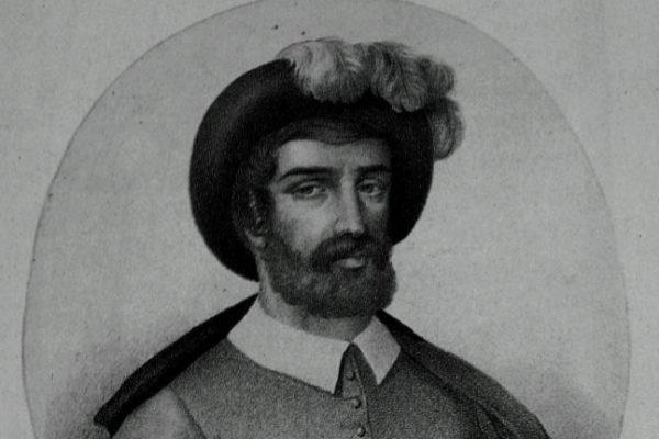 Grabado de Juan Sebastián Elcano.