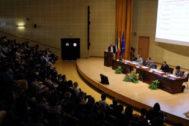 Momento de la inauguración oficial de los programas de máster en la UPO.