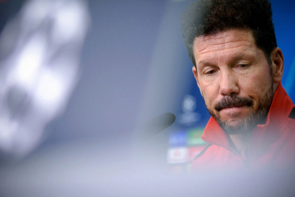 Leverkusen (Germany).- Atletico&amp;apos;s head coach Diego <HIT>Simeone</HIT>...
