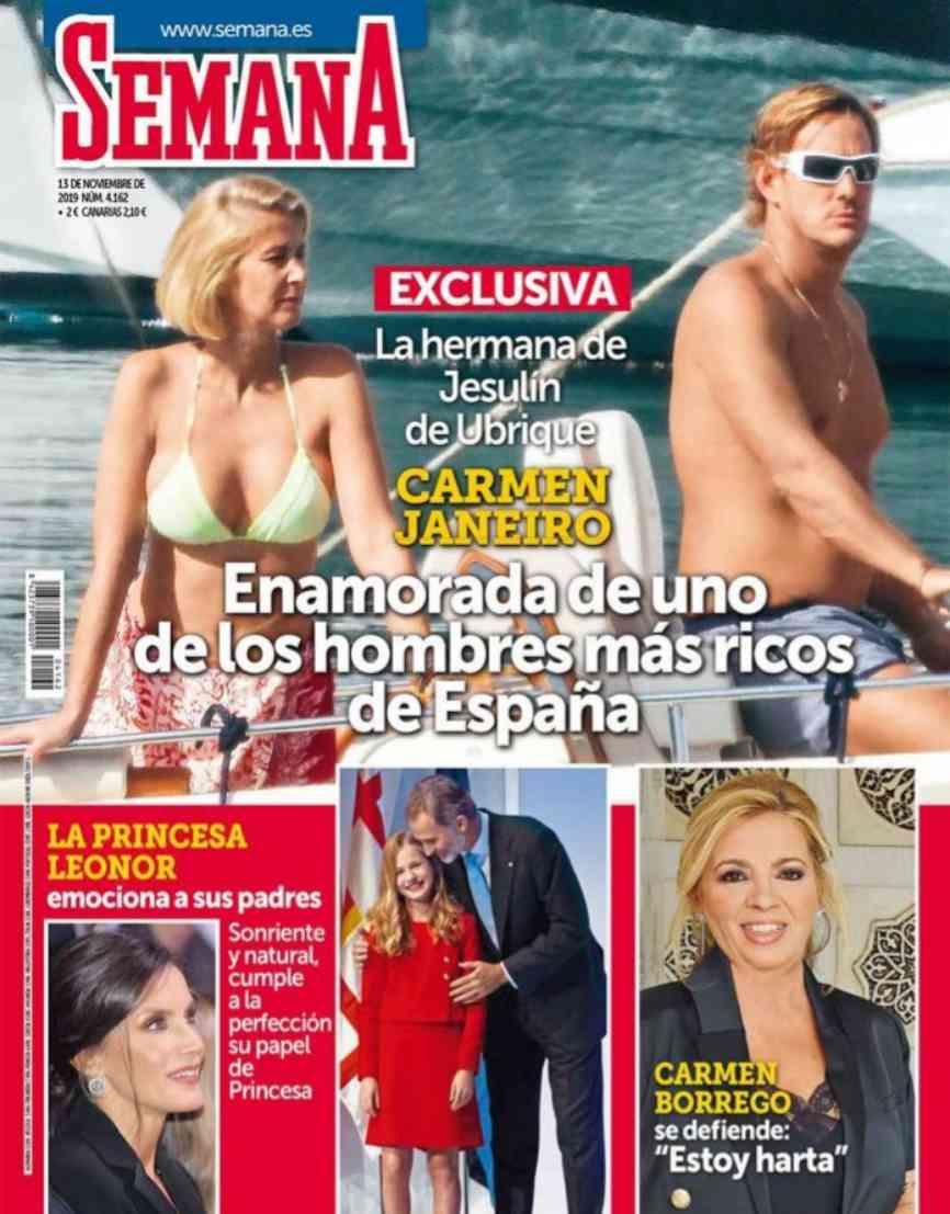 Hace años que Carmen Janeiro desapareció de foto mediático. Ya no...