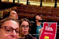 Bildu abre las puertas del Congreso a la CUP y sus candidatos hacen un vídeo electoral
