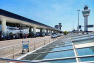 El aeropuerto holandés de Schiphol.