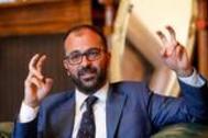 El ministro Lorenzo Fioramonti, durante la entrevista.