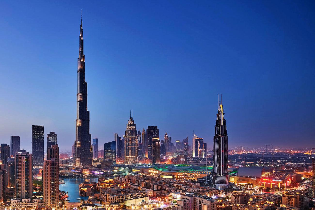 El Burj Khalifa es el rascacielos más alto del...