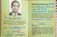 Angel Navarrete 05/11/2019 Madrid, Comunidad de Madrid Ricardo <HIT>Ehrman</HIT>, el periodista que tumbo el muro de Berlin