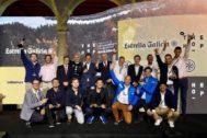 Los ganadores de la segunda edición TheHop con la dirección de Estrella Galicia.
