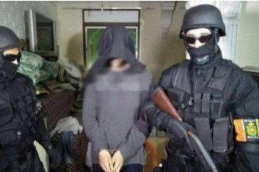 El Hammoudi en julio, tras ser arrestado por la Policía marroquí.