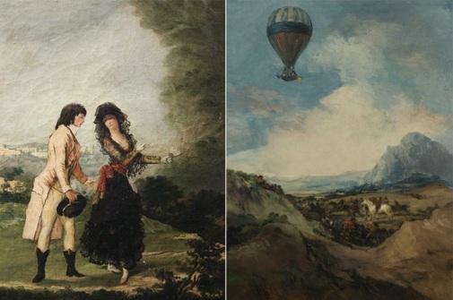 'Pareja elegante' y 'El globo', los cuadros excluidos.