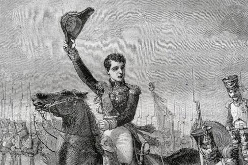 Charles-Étienne Gudin en plena campaña.