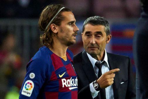 GRAF8884. BARCELONA.- El delantero francés del FC Barcelona, Antoine...