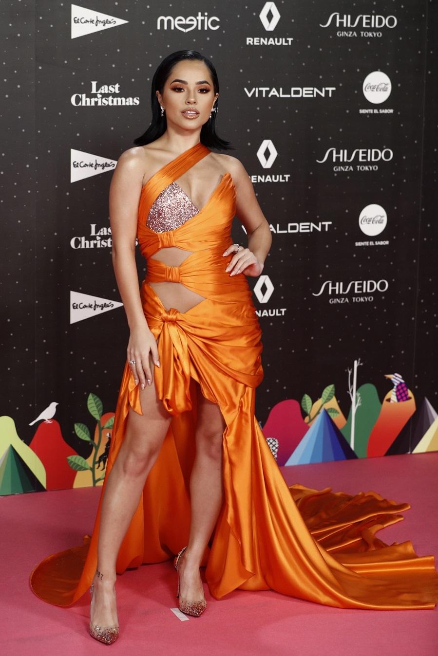 Becky G Alfombra roja de Los Premios 40 Principales | Moda