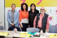 Faust Ripoll, Alicia Garijo, Julia Parra y Guillermo Heras han presentado la que consideran una edición de la Muestra de especial calidad.