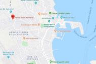 La sospechosa fue detenida en el Barrio de Las Palmeras, en Melilla.