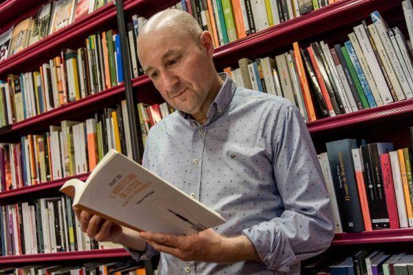 Vicent Usó, ganador del Ciutat d'Alzira de Novela.