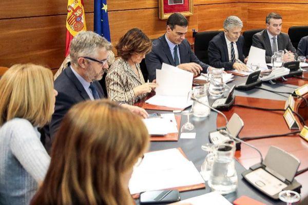 Sánchez se hizo ayer la última foto de campaña.