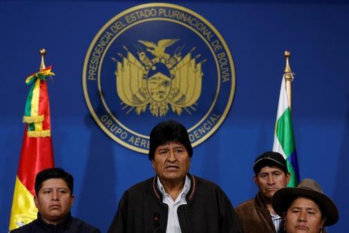 Evo Morales anuncia la repetición electoral en Bolivia.