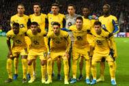 El once del Oporto que se enfrentó al Rangers el jueves