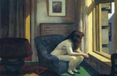 'Eleven A.M.', cuadro de Edward Hopper (1926)