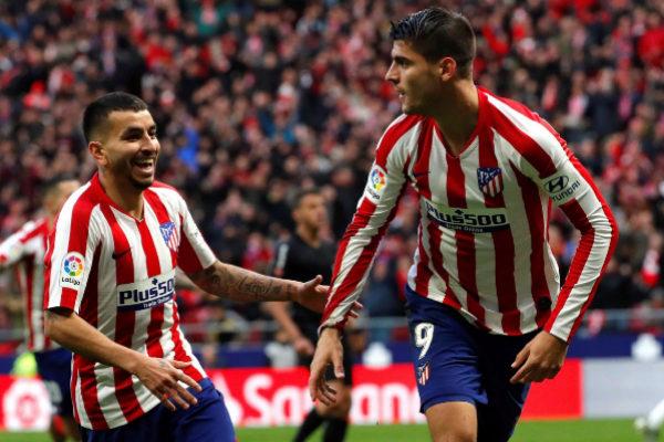 GRAF6518. MADRID.- El delantero del Atlético de Madrid Álvaro...