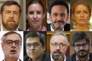 Miguel Gutiérrez, Melisa Rodríguez, Edmundo Bal, Patricia Reyes, José Manuel Villegas, José María Espejo-Saavedra, Juan Carlos Girauta y Francisco Hervías.