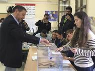 El presidente de Coalición por Melilla (CpM) y cabeza de lista al Congreso, Mustafa Aberchán.