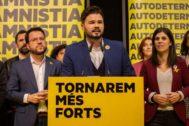 El candidato de ERC, Gabriel Rufián.