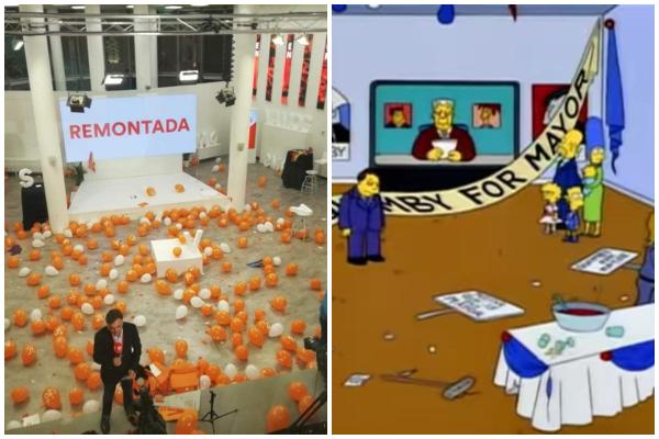 Los Simpson ya predijeron la debacle de Ciudadanos.