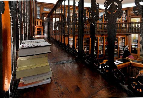 Biblioteca São Lázaro.
