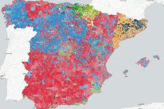 Así queda el mapa municipal