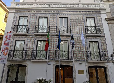 Edificio de la Junta de freguesia.