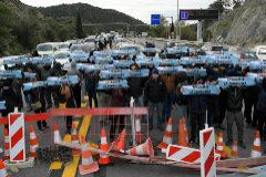 La Guardia Civil acude a la Jonquera para apoyar a los Mossos y la Gendarmería francesa se plantea actuar