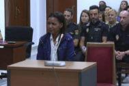 Ana Julia Quezada durante el juicio por el asesinato del niño Gabriel Cruz, en Almería.