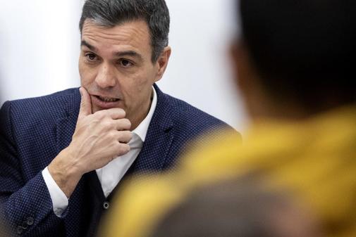 Pedro Sánchez preside la Comisión Ejecutiva Federal del PSOE tras...