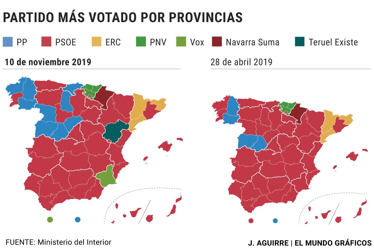 Mapa Region De Murcia Elecciones.Elecciones Generales La Repeticion Electoral Alumbra Un