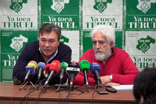 """Teruel Existe: """"Si Revilla lleva anchoas a Moncloa, nosotros vamos a llevar el jamón de Teruel"""""""