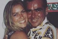 Kira Miró junto a su padre, Pepe, fallecido hace una semana.