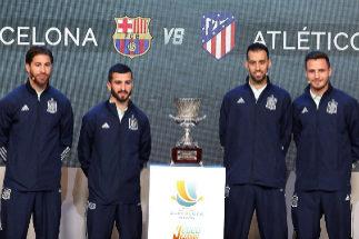 Valencia-Real Madrid y Barcelona-Atlético, semifinales de la nueva Supercopa de España