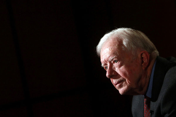 FILE PHOTO: Former U.S. President <HIT>Jimmy</HIT> <HIT>Carter</HIT>...