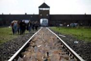 El campo de concentración de Auschwitz, Polonia.