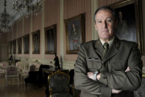 El general retirado, Alberto Asarta, diputado de Vox por Castellón.