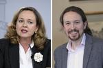 Calviño e Iglesias, choque de vicepresidentes a la vista por la gestión de Bankia