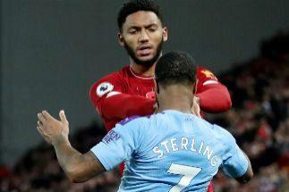 De Anfield al comedor: El bochorno, en dos asaltos, entre Sterling y Gomez