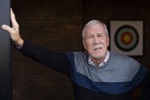 Walter Robinson, este martes, durante una visita a Madrid para recoger...